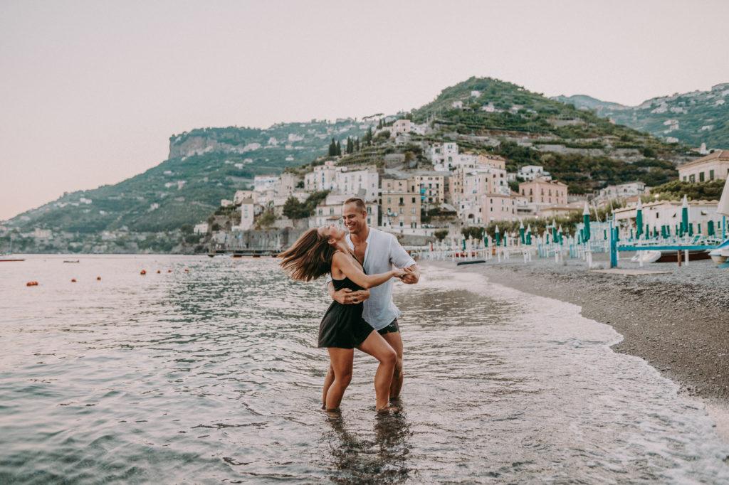 american engagement in amalfi coast 029 1 1024x682 - Madison & Seb